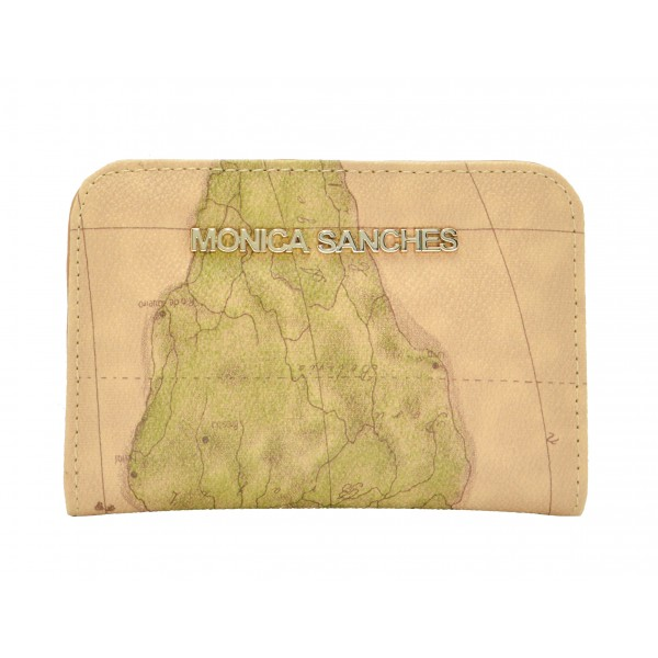Carteira Feminina Monica Sanches 1263 Line Mapa