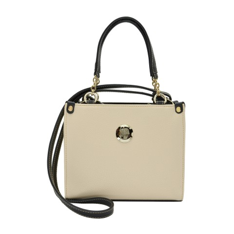 Bolsa Feminina Monica Sanches 2969 Canguru Off White