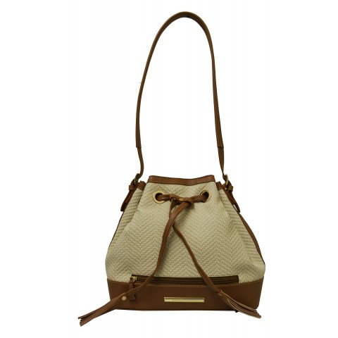 Bolsa Feminina Monica Sanches 3007 Evidence Off White