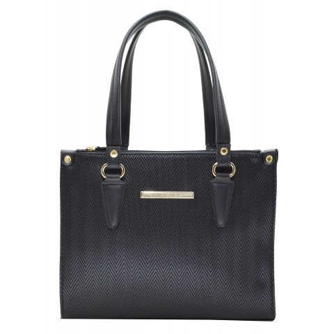 Bolsa Feminina Monica Sanches 3083 Paris Preto