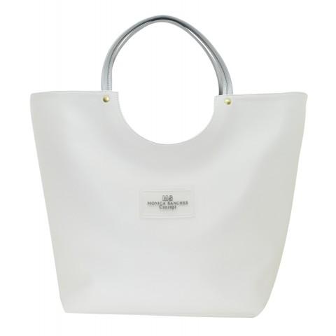 Bolsa Feminina Monica Sanches 3141 Rustic Bianco
