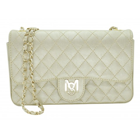 Bolsa Feminina Monica Sanches 3249 Kill Ouro