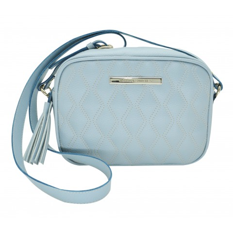 Bolsa Feminina Monica Sanches 3251 Canguru Light Cielo