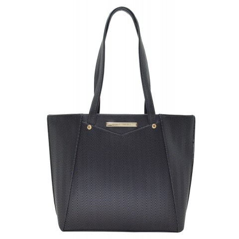 Bolsa Feminina Monica Sanches 3392 Paris Preto