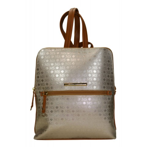 Bolsa Feminina Monica Sanches 3439 Ms Transfer Ouro Light