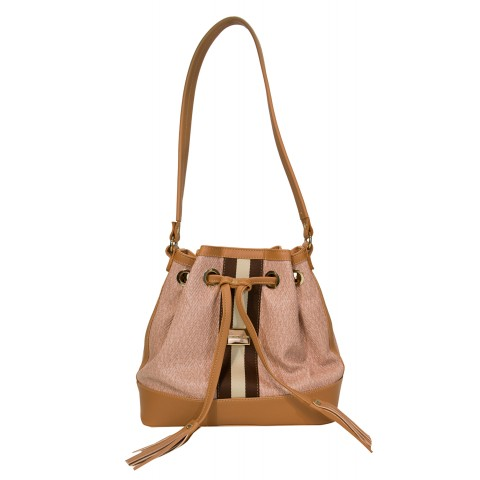 Bolsa Feminina Monica Sanches 3449 Paris Quartz