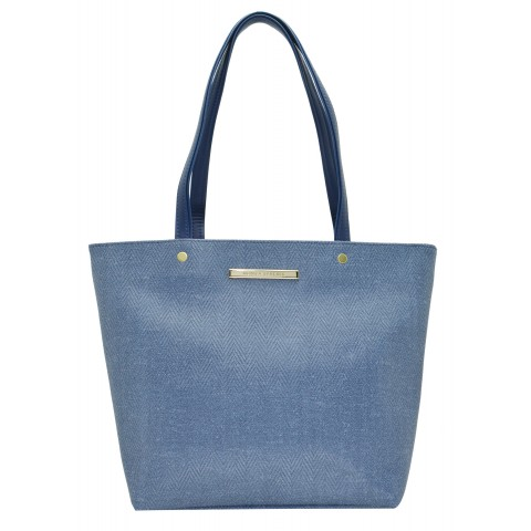 Bolsa Feminina Monica Sanches 3472 Paris Jeans