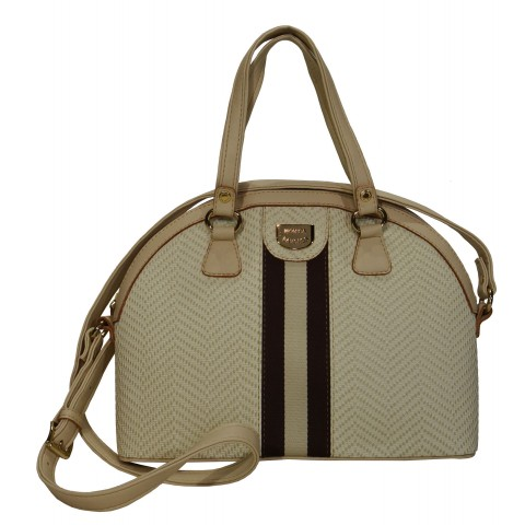Bolsa Feminina Monica Sanches 3495 Evidence Off White