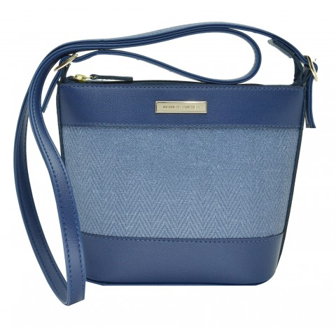 Bolsa Feminina Monica Sanches 3584 Paris Jeans