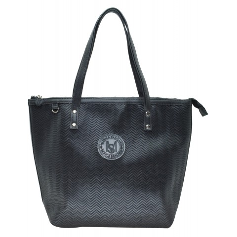 Bolsa Feminina Monica Sanches 3620 Paris Preto