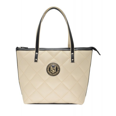 Bolsa Feminina Monica Sanches 3636 Canguru Off White