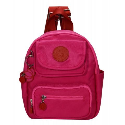 Bolsa Feminina Monica Sanches 5005 Lona 1200 Pink