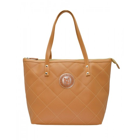 Bolsa Feminina Monica Sanches 3636 Kill Caramelo