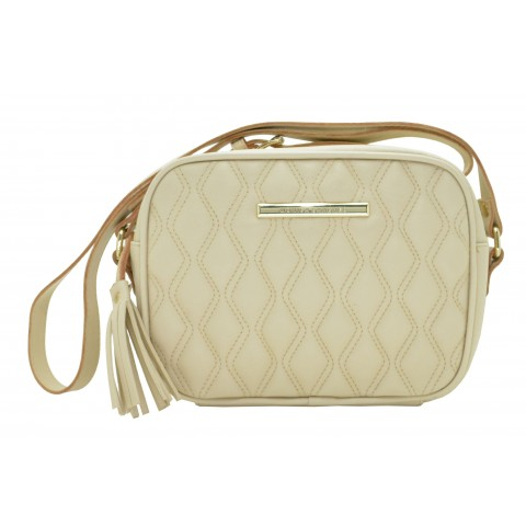 Bolsa Feminina Monica Sanches 3251 Andorra Off White