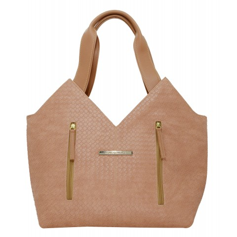 Bolsa Feminina Monica Sanches 3607 Trisse Ginger