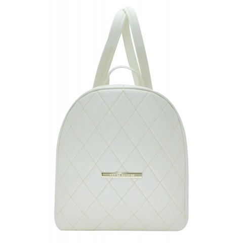 Bolsa Feminina Monica Sanches 3262 Kill Branco Perola