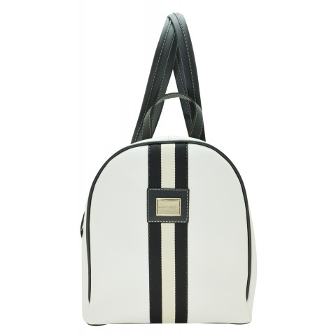 Bolsa Feminina Monica Sanches 3522 Kill Branco Perola